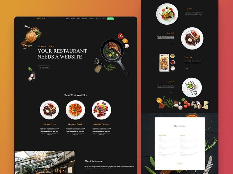 niche-web-home-restaurant